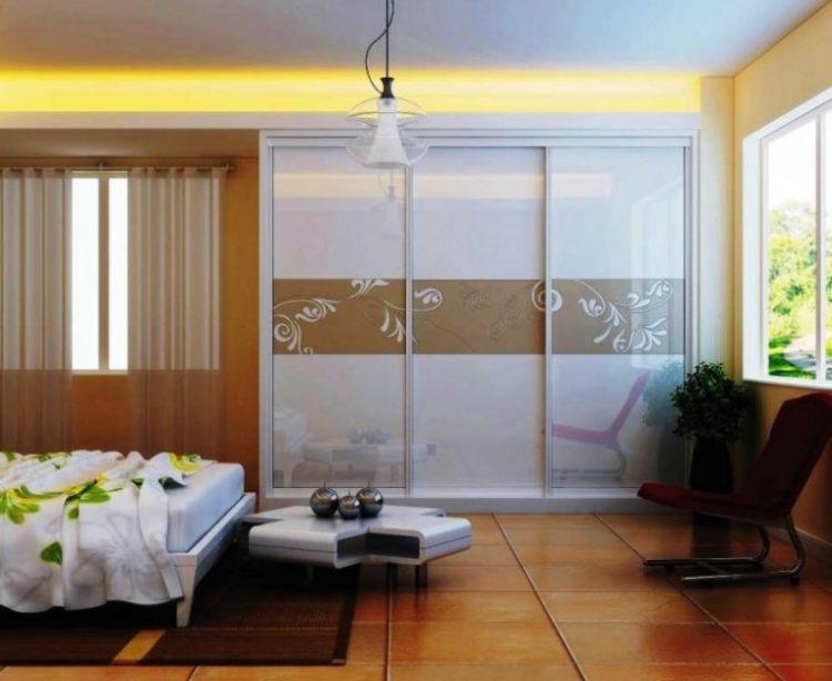 Asian Style Sliding Closet Door Idea