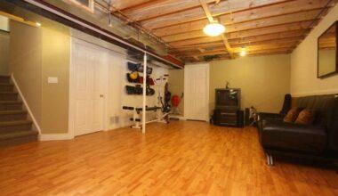 21 Cool Basement Floor Paint Ideas To Apply 10