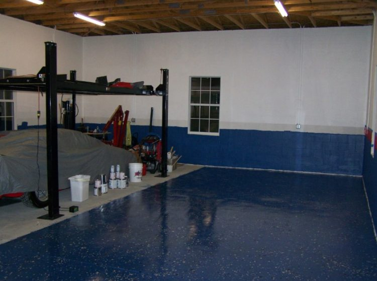 Basement Flooring Design