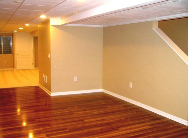 Basement Flooring Design