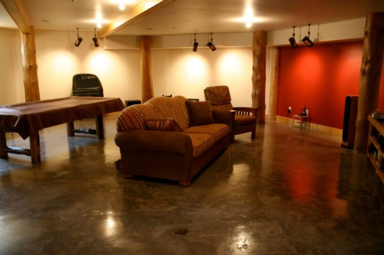Basement Flooring Paint Pics