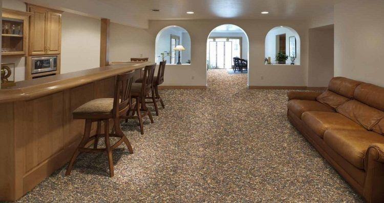 Great Carpeting Ideas For Basements: Cool Basement Floor Paint Ideas To Make Your Home More Amazing