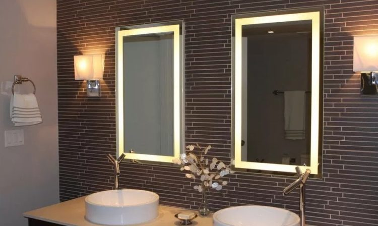 Enjoy Your Bath Time With These Beautiful Design of Bathroom Mirror Ideas 12