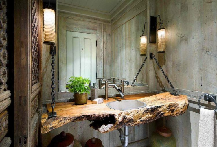 Enjoy Your Bath Time With These Beautiful Design of Bathroom Mirror Ideas 23
