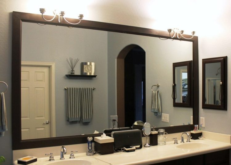 Enjoy Your Bath Time With These Beautiful Design of Bathroom Mirror Ideas 16