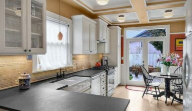 15 Slate Countertops Design Ideas For Generate More Valuable Cooking Time 15