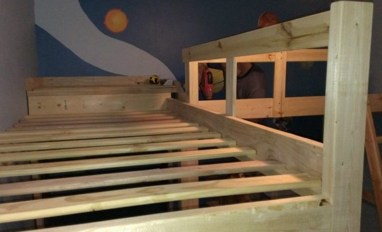 Built-In Bunk Beds For Kids
