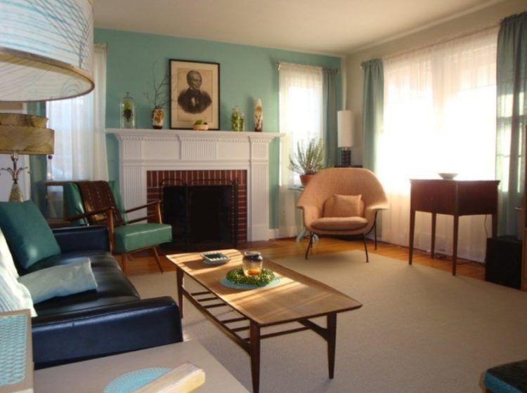 Back to Vintage with Attractive Mid Century Modern Living Room Design Ideas 10
