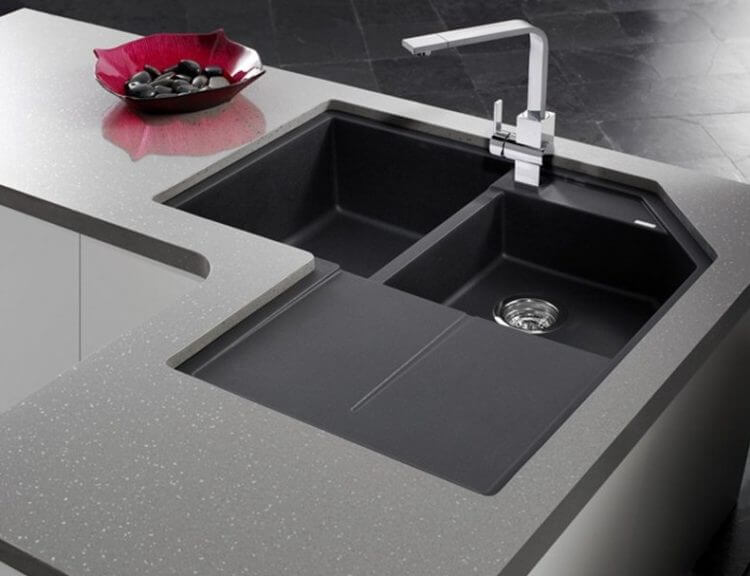Corner Kitchen Sink Design
