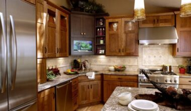 23 Exciting Design of Corner Kitchen Sink Ideas For Best Cooking Experience 7