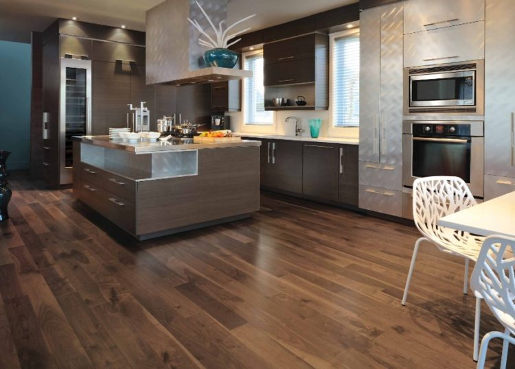Charming Dark Wood Floors