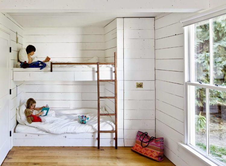 Built In Bunk Beds Design