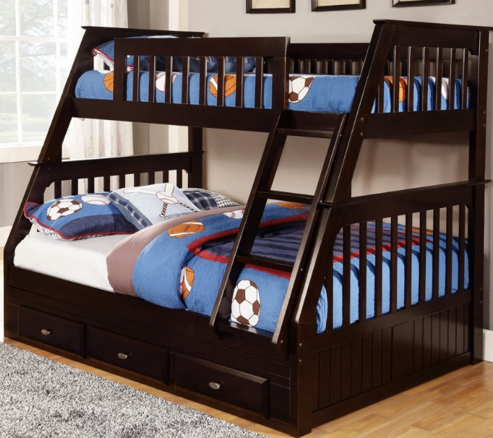 Cool Built-In Bunk Beds