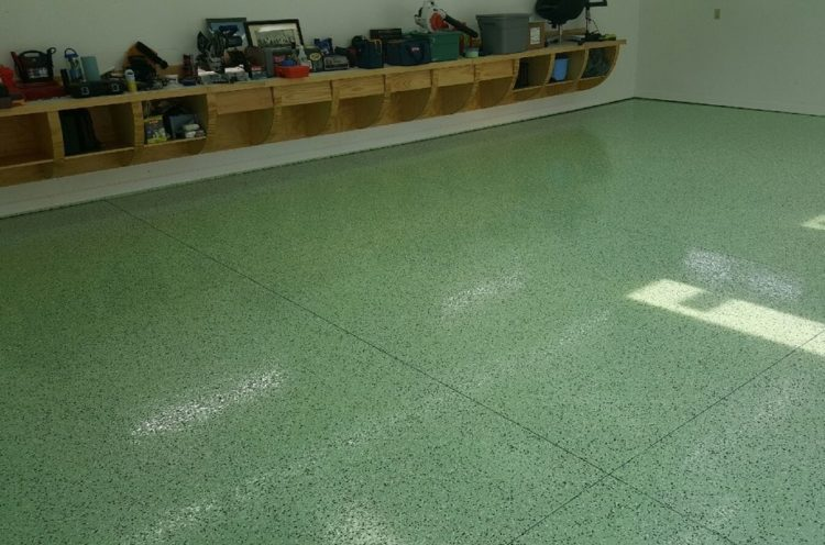 Basement Floor Paint Design