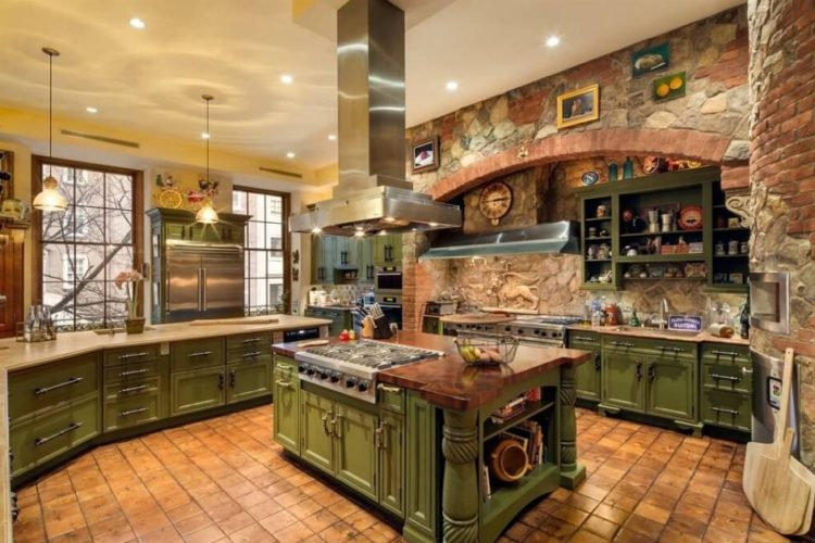 Cool Rustic Kitchen Cabinets