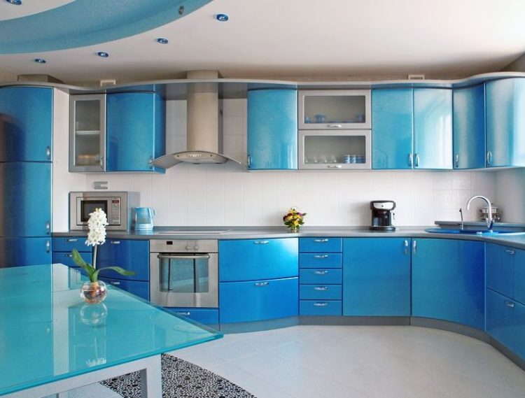 Two Tone Kitchen Cabinet Doors Design: Know The Various Types Of Timber  Discoloration Complete