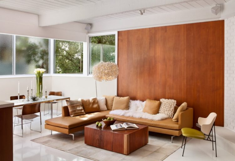 Back to Vintage with Attractive Mid Century Modern Living Room Design Ideas 5
