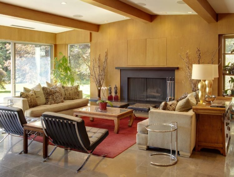 Back to Vintage with Attractive Mid Century Modern Living Room Design Ideas 6