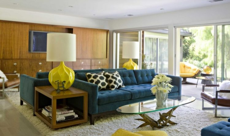 Back to Vintage with Attractive Mid Century Modern Living Room Design Ideas 1