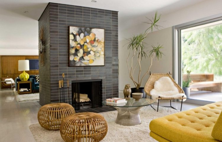 Back to Vintage with Attractive Mid Century Modern Living Room Design Ideas 7