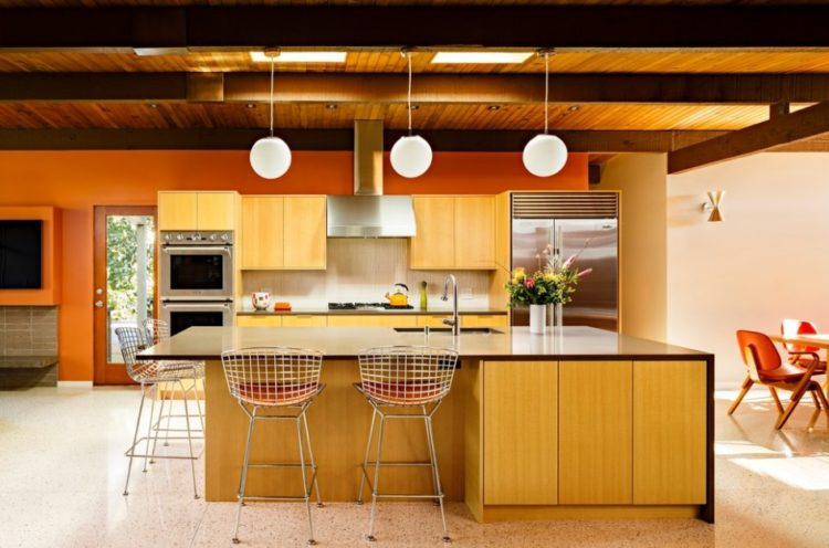 Mid Century Modern Kitchen 7