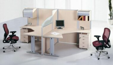 25 Wonderful Two Person Desk Design for Your Home Office 2
