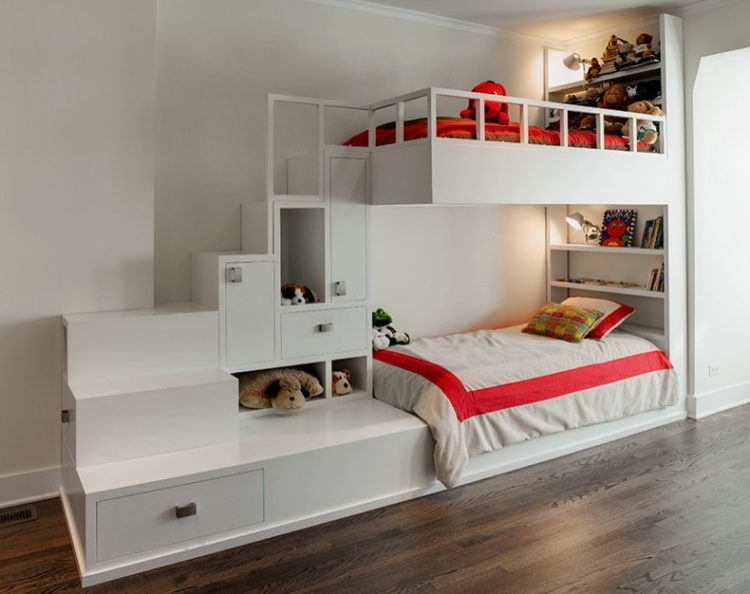 Bunk Beds Designs built-in bunk beds ideas to make an enjoyable bedroom design