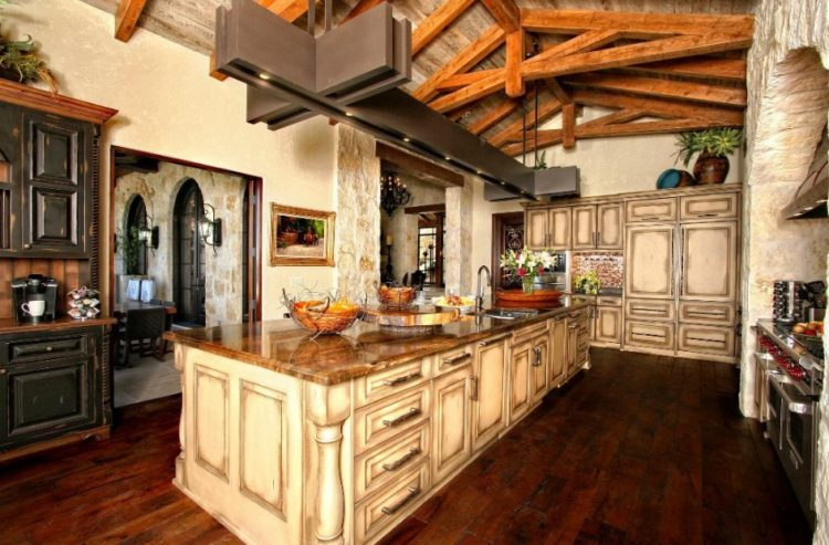 Living the Rusty Life with These Wonderful Rustic Looking Kitchen 29