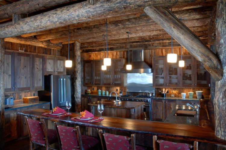 Fabulous Rustic Kitchen Cabinets Design