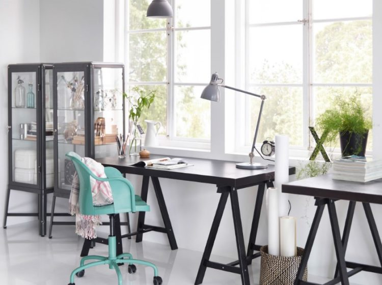 Soothing Two Person Desk Ideas