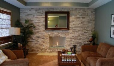 Stacked Stone Fireplace: A Complete Guide 5
