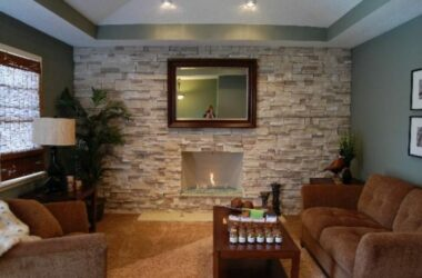 Stacked Stone Fireplace: A Complete Guide 2