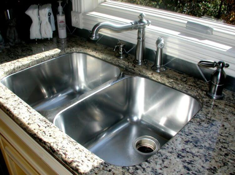Corner Kitchen Sink