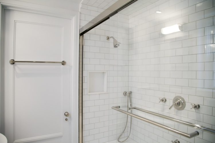 Beautiful Subway Tile Shower Design
