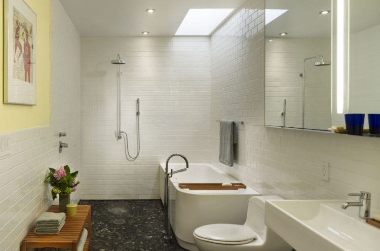 Subway Tile Shower Design