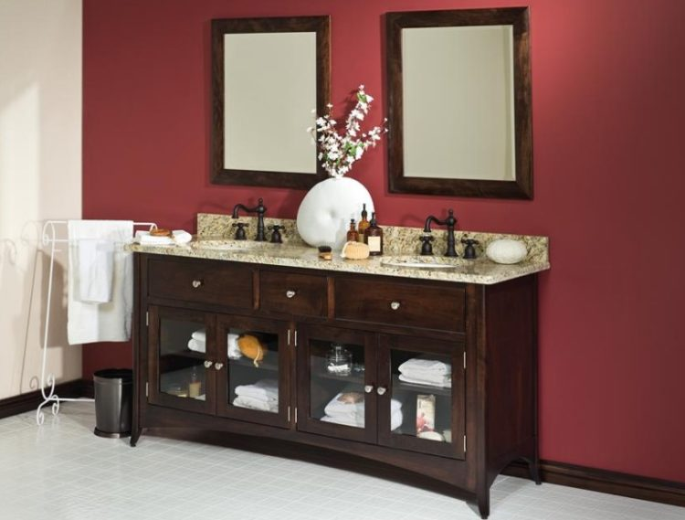 Toilet Sink and Cabinets Combo Ideas