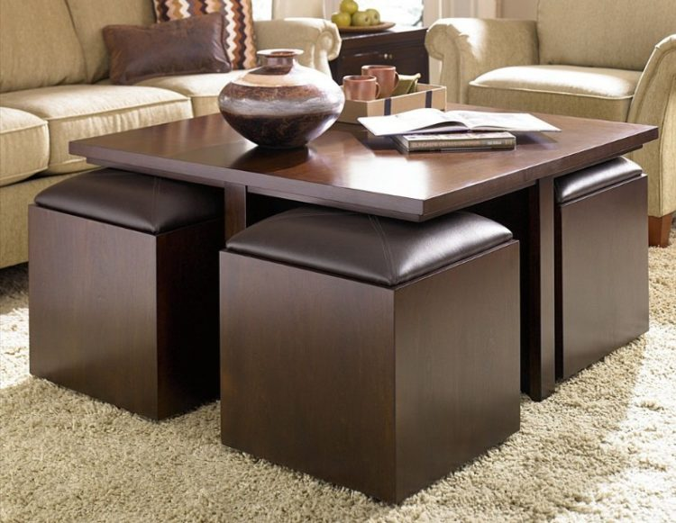 unique coffee table design in your enchanting living room area