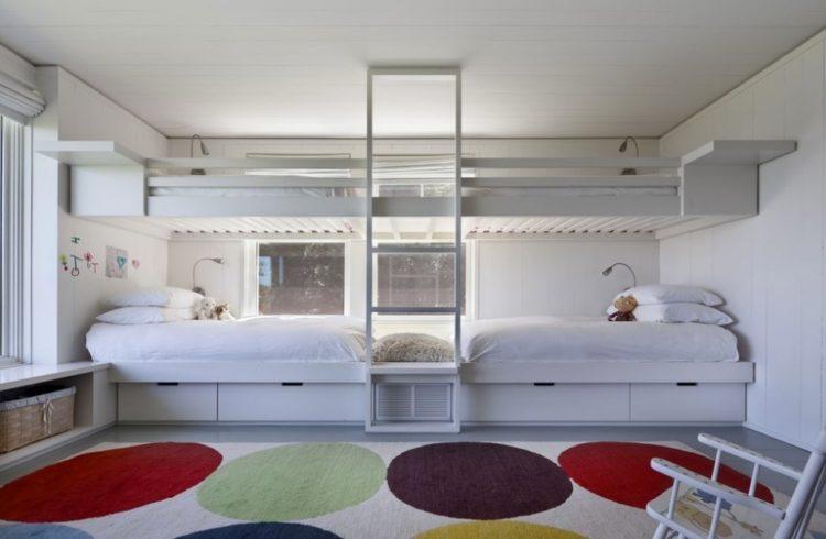 Built-In Bunk Beds For Children