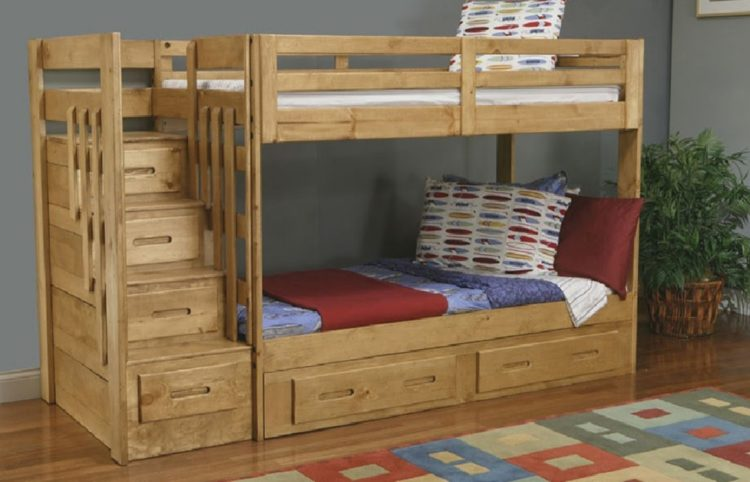 15+ Built-In Bunk Beds Ideas for Comfortable Bedroom 24