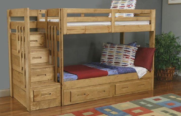 15+ Built-In Bunk Beds Ideas for Comfortable Bedroom 16