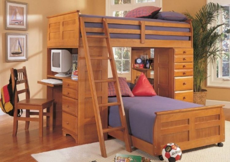 Cool Built-In Bunk Beds