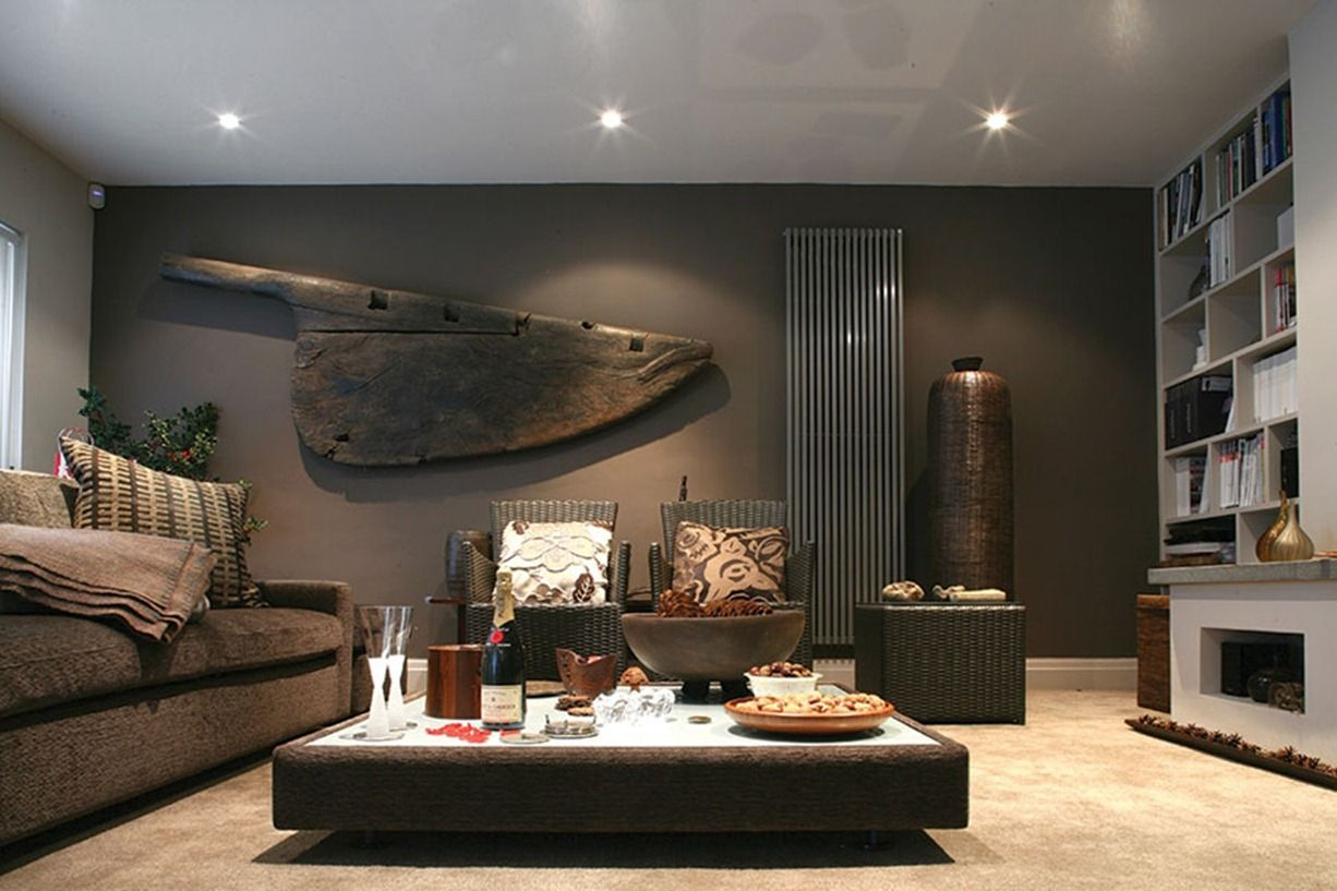 Ambient Male Living Space Ideas