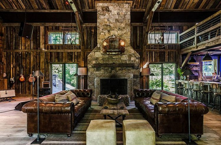 Barn with Male Living Space Ideas
