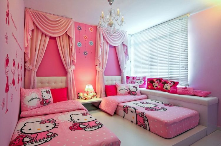 15 Perfect Ideas for Creating Lovely Hello Kitty Bedroom 28