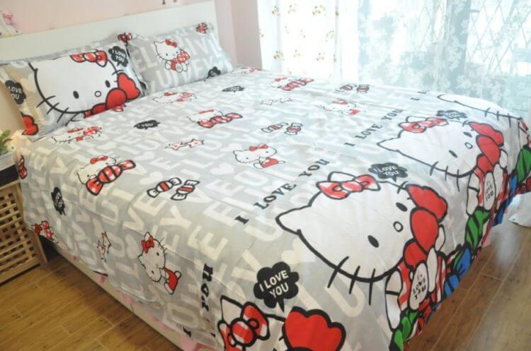 Hello Kittybedroom decoration