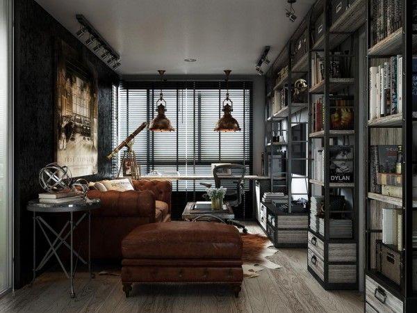 Male Living Room Loft Ideas
