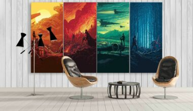 Male Living Space Wall Art Ideas