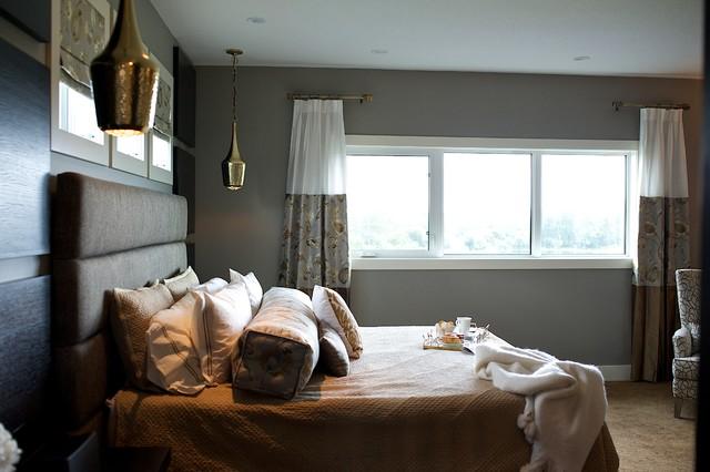 Modern Steampunk Bedroom
