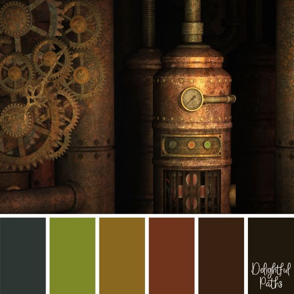 Perfect Steampunk Paint Colors