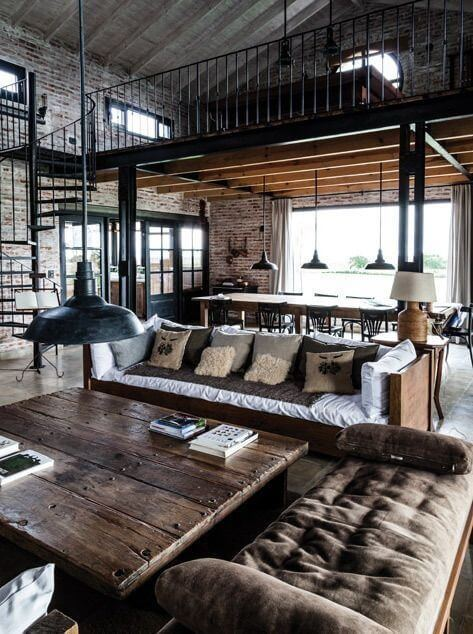 Rustic Male Living Space Items